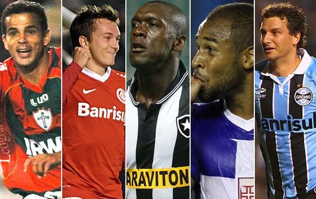Montagem gol mais bonito quarta-feira É Gol (Foto: Reprodução/SporTV)