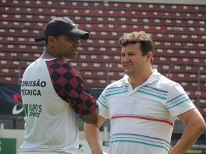 Milton do Ó e Jeferson de Oliveira Juventus (Foto: Diego Madruga)