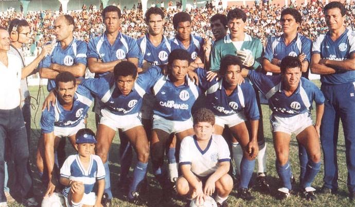Confiança 1990 (Foto: Arquivo/FSF)