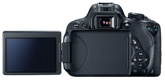 A Canon Rebel T5i traz um visor flexível para acompanhar o que está sendo capturado (Foto: Divulgação/Canon) (Foto: A Canon Rebel T5i traz um visor flexível para acompanhar o que está sendo capturado (Foto: Divulgação/Canon))