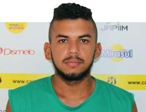 Luciano Silva, atacante do Castanhal (Foto: Ascom Castanhal)