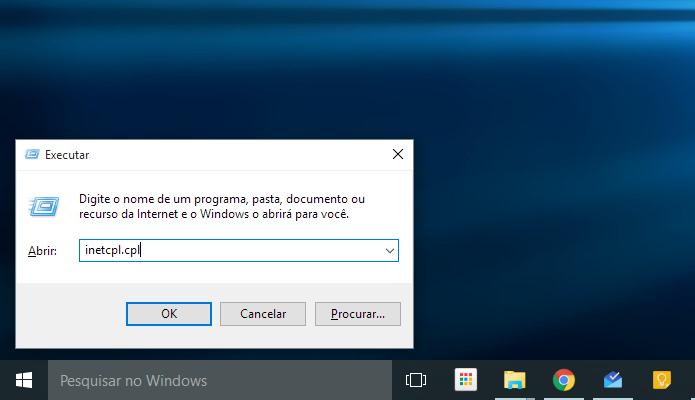 Abra o executador de comandos do Windows (Foto: Reprodução/Paulo Alves)