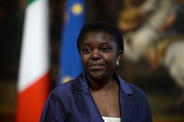 Cecile Kyenge foi nomeada ministra da Integração (Foto: Filippo Monteforte/AFP)