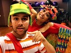 Juliana Paes entra no ritmo de carnaval e vai malhar fantasiada