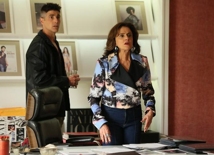 Fanny fica perplexa ao saber sobre Giovanna (Foto: Isabella Pinheiro/ Gshow)