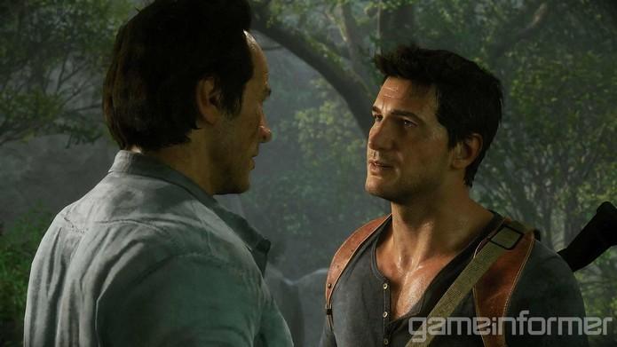 Drake e Sam se encontrarão muitas vezes durante Uncharted 4 (Foto: Reprodução/Gameinformer)