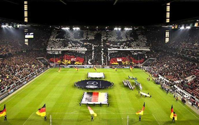 torcida Alemanha Cristo Redentor Copa do Mundo (Foto: Reprodução / Twitter)