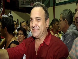 Manoel Santana, candidato a prefeito pelo PT (Foto: TV Verdes Mares/ Reproduo)