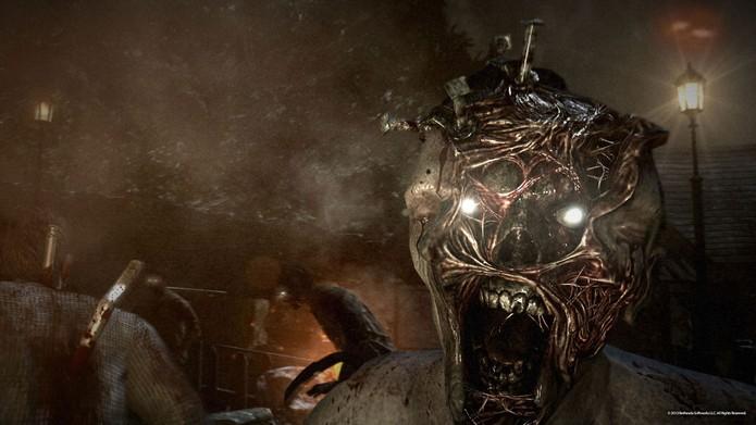 O visual de uma das criaturas de The Evil Within (Foto: Divulgação) (Foto: O visual de uma das criaturas de The Evil Within (Foto: Divulgação))