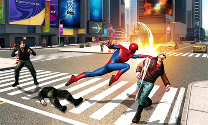 O Espetacular Homem-Aranha 2 é a nova aventura de Peter Parker para Windows Phone 8 (Foto: Divulgação/Windows Phone Store)