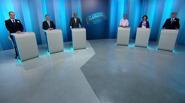 Candidatos ao governo de Minas Gerais participam de debate