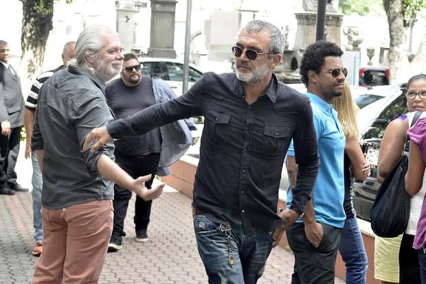 Escritor Carlos Lombardi e o Diretor Rogério Gomes, o Papinha (Foto: Marcos Serra Lima / EGO)
