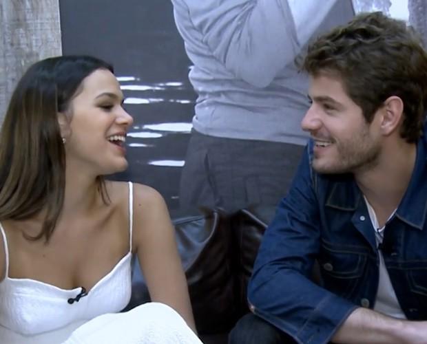 Bruna e Maurício (Foto: Gshow / TV Globo)