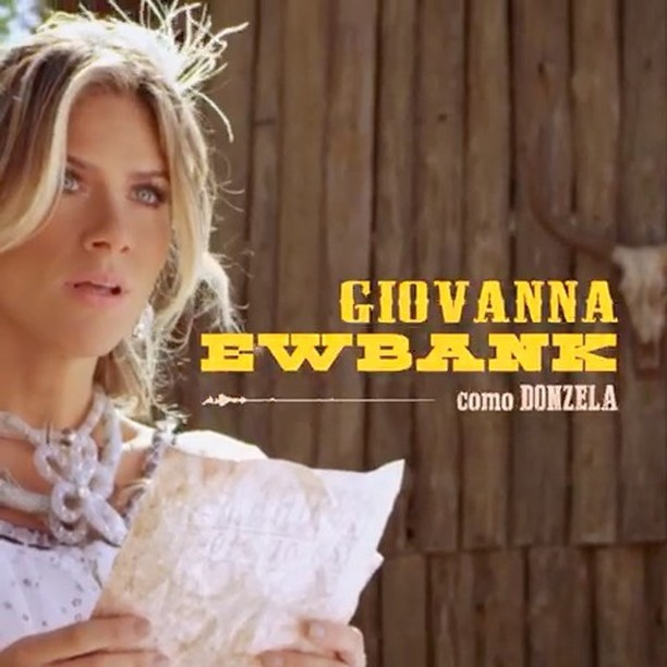 """Giovanna Ewbank em cena no clipe de """"Regime Fechado"""" (Foto: reprodução/instagram)"""