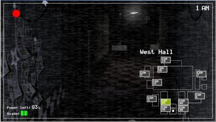 Five Nights at Freddys: jogo não possui tutorial ou dicas para os jogadores (Foto: Divulgação)