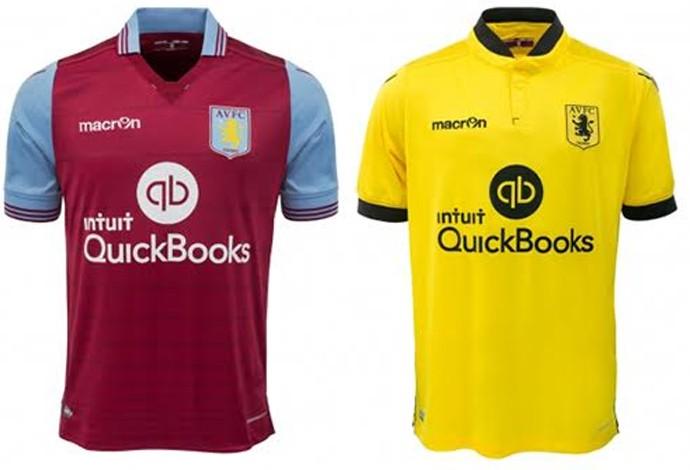 561a128f64 Camisas Aston Villa