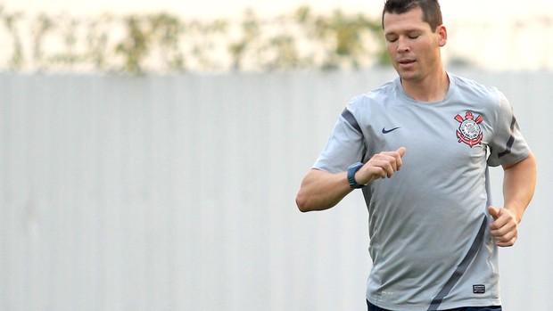 Anderson Polga, treino do Corinthians (Foto: Paulo Fischer / Agência Estado)
