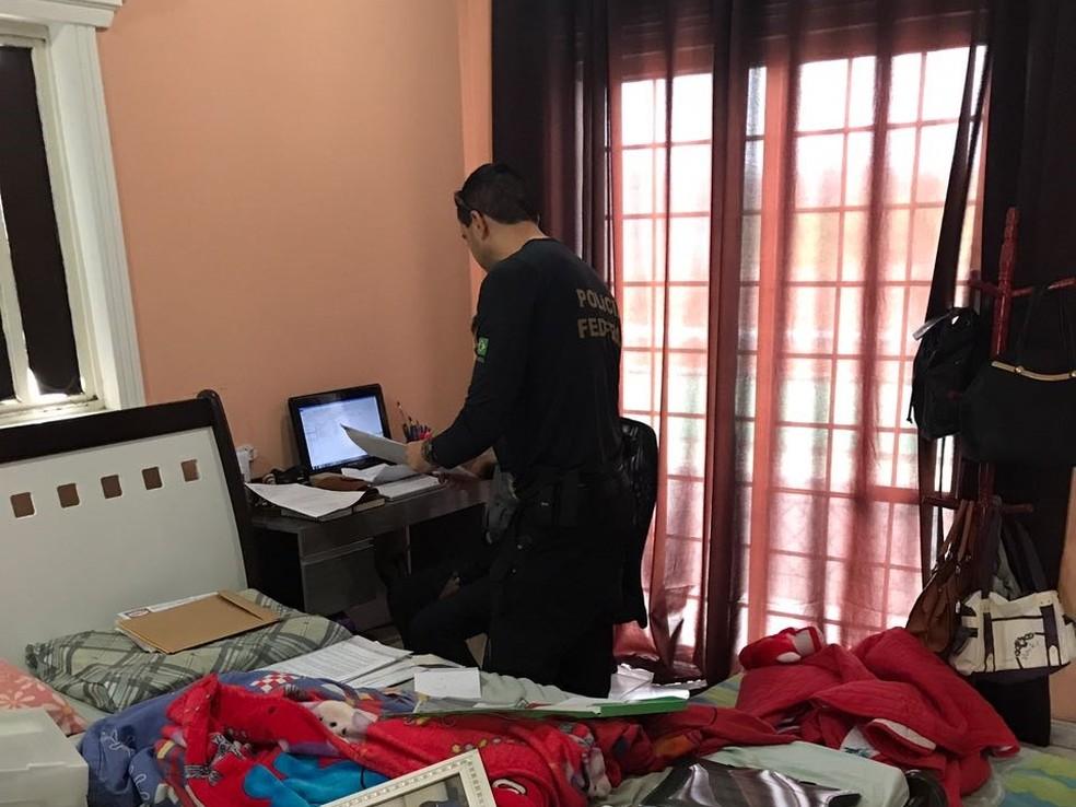 Polícia visa cumprir 20 mandados de busca e apreensão (Foto: Divulgação/Polícia Federal)