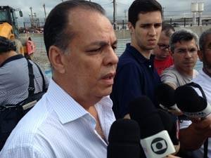 presidente da Associação Brasileira de Engenheria e Consultoria Estrutural (ABECE), Jeferson Dias de Souza, (Foto: Letícia Macedo/G1)