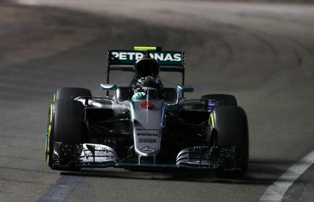 Nico Rosberg vence o Grande Prêmio de Cingapura (Foto: Divulgação)