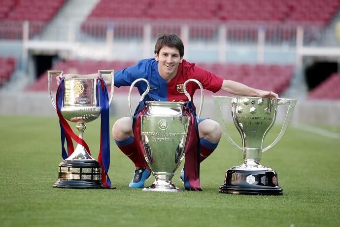 Messi título espanhol 2009