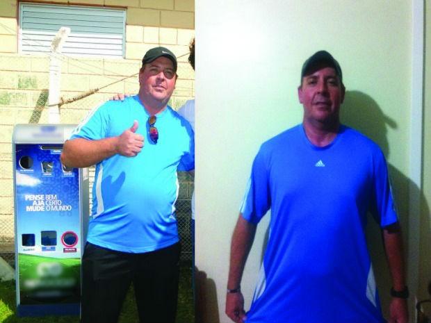 Alerta sobre risco de morte, faz homem perder 54 kg em 6 meses (Foto: Arquivo pessoal)