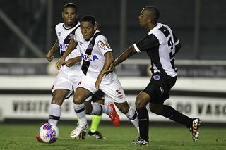 John Cley e Marcinho, Vasco x Resende (Foto: Marcelo Sadio / vasco.com.br)