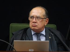 Gilmar Mendes, ministro do STF (Foto: Carlos Humberto/SCO/STF)