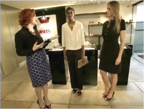 Acessórios podem transformar uma roupa simples em um look de festa (Foto: Reprodução EPTV)
