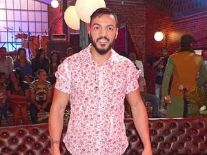 Belo mostra sua transformação no palco do Esquenta! (Foto: Gabriela Bispo/Gshow)