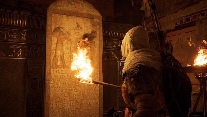 Assassin's Creed Origins  (Foto: Reprodução/Victor Teixeira)