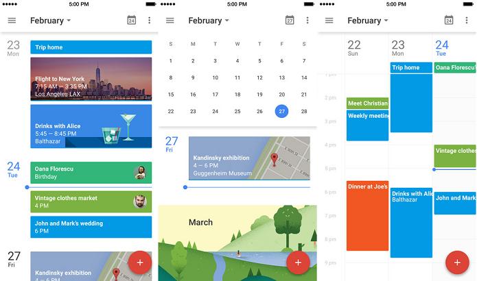 Google calendário traz o serviço de agenda do Google para seu gadget (Foto: Divulgação/AppStore)