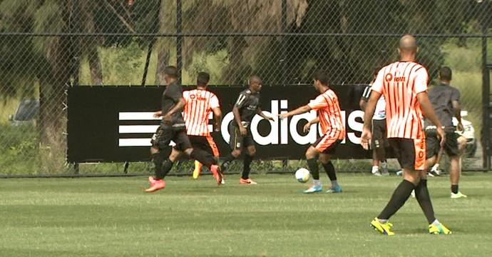 Jogo-treino Ponte Preta x União Barbarense (Foto: Carlos Velardi/ EPTV)