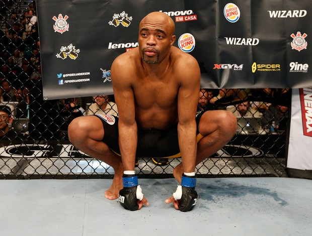 UFC Chris Weidman x Anderson Silva MMA (Foto: Getty Images)