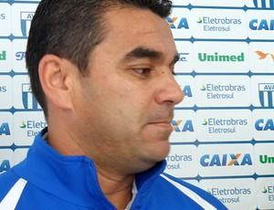 Marcelinho Paulista, diretor de futebol do Avaí (Foto: Savio Hermano / Globoesporte.com)