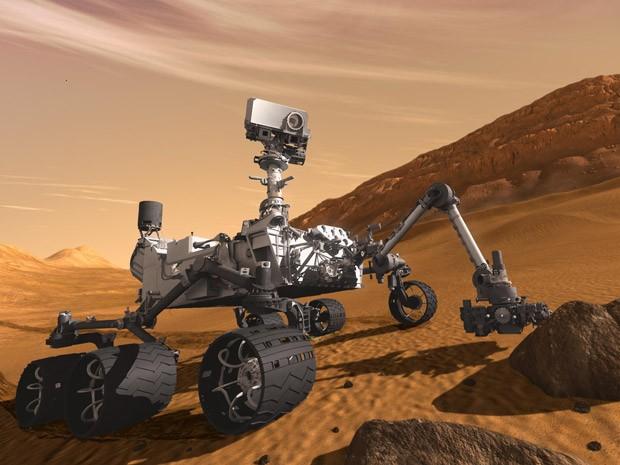 Curiosity (Foto: JPL-Caltech / Nasa)