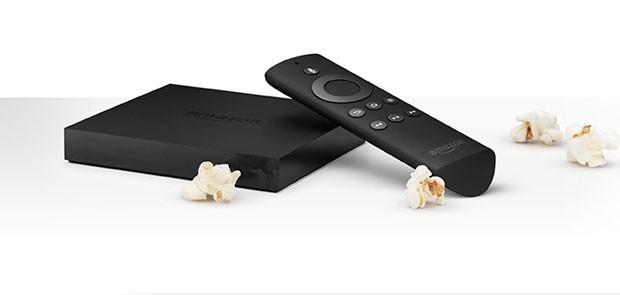 Fire TV é o aparelho da Amazon para rodar contéudo digital e games na TV (Foto: Divulgação/Amazon)