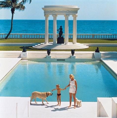 Villa Artemis, Palm Beach, Florida, 1955. (Foto: Slim Aarons/Divulgação)