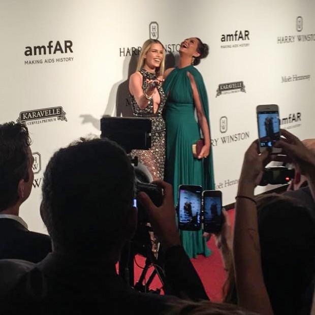 Yasmin e Luiza Brunet (Foto: Arthur Vahia)