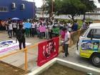 Alunos do Pronatec fazem protesto em Maceió contra falta de aulas