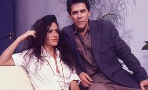 Zé Mayer (Ricardo) e Luma de Oliveira (Ana Maria) em Meu Bem, Meu Mal
