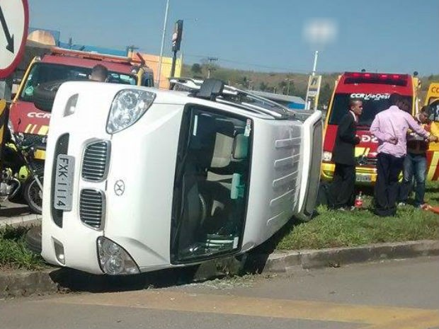 Vítimas foram encaminhadas para o hospital (Foto: Anabele Moura/Arquivo pessoal)