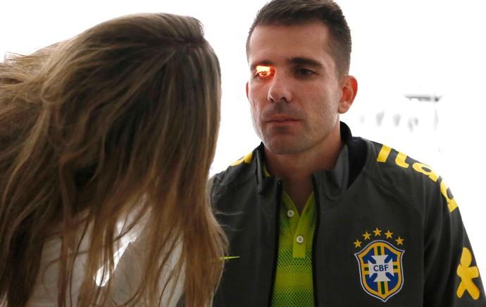 Victor Exames Seleção Brasileira (Foto: Rafael Ribeiro / CBF)