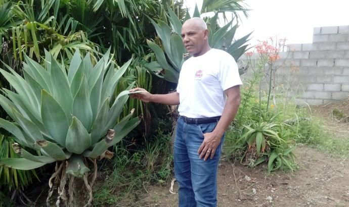 Jorge Tatu é o massagista da equipe de Vassouras (Foto: Arquivo pessoal)