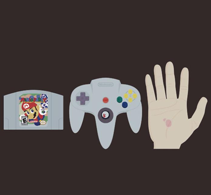 Mario Party era capaz de causar ferimentos durante as partidas (Foto: Reprodução/Reddit)