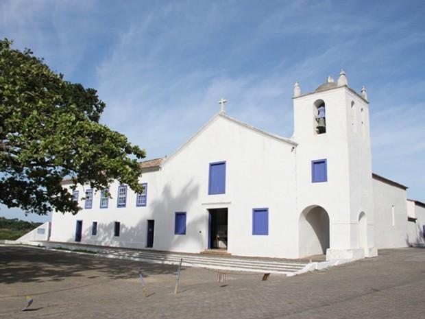 MIssa vai acontecer no Santuário Nacional de São José de Anchieta no Espírito Santo (Foto: Divulgação/ Prefeitura de Anchieta)