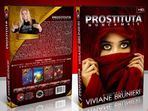 Ex-Ronaldinha Viviane Brunieri lança DVD contando sua vida (Foto: Divulgação)