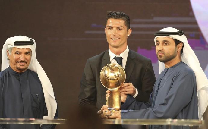 Cristiano Ronaldo Globe Awards Dubai 2014 (Foto: Agência EFE)