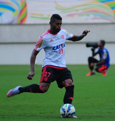 Kayke, atacante do Flamengo - Arena das Dunas (Foto: Alexandre Lago/GloboEsporte.com)
