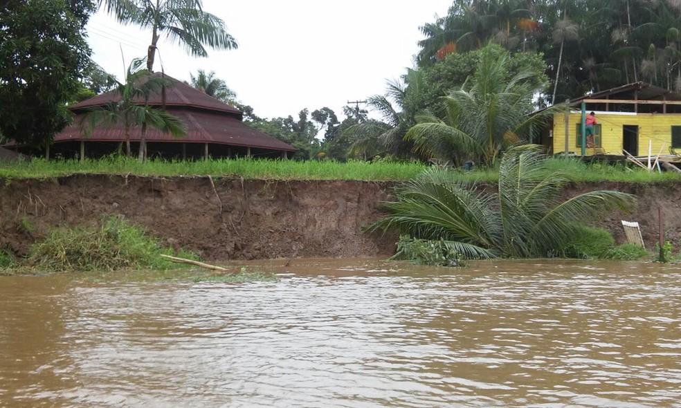 Comunidades do arquipélago deverão ter casas e prédios realocados (Foto: Elison Amanajás/Arquivo Pessoal)